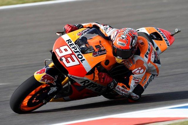 hasil warm-up MotoGP Valencia - Marquez tercepat