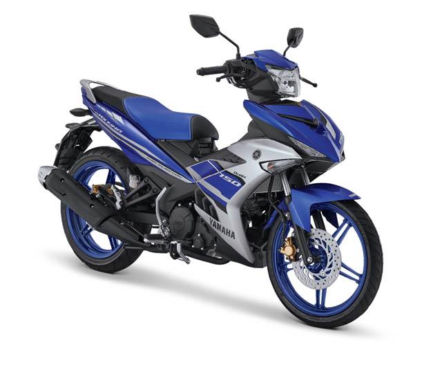 Yamaha MX King warna Racing Blue