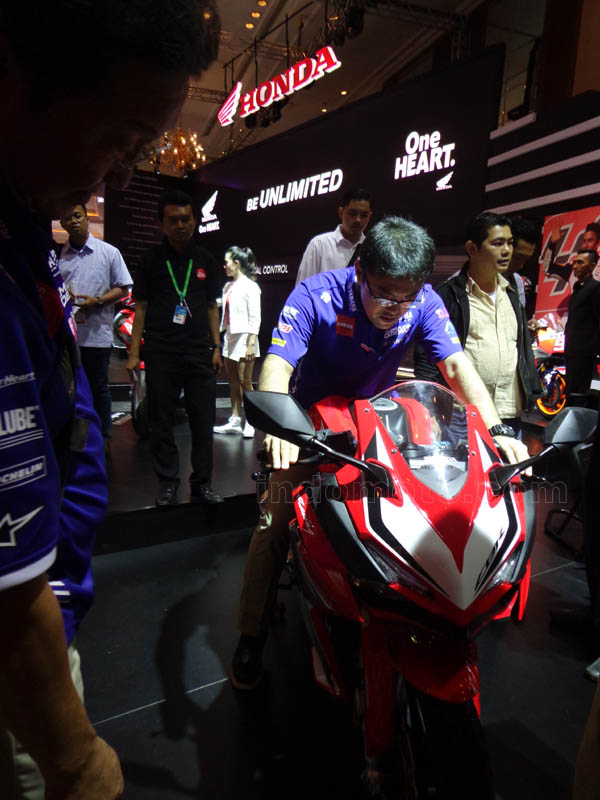 harga all new Honda CBR250RR