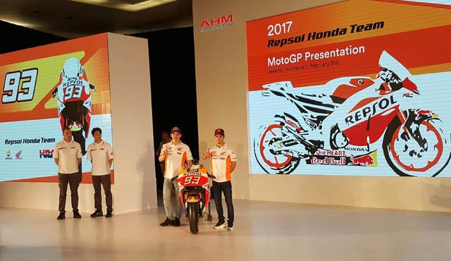 lauching repsol honda motogp 2017