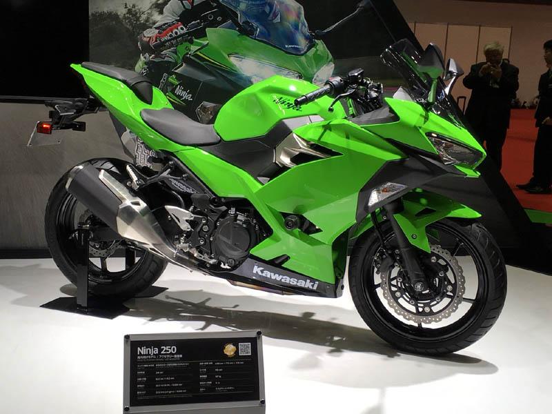 Kawasaki Ninja 250 Versi 2018 Tampak Samping Kanan