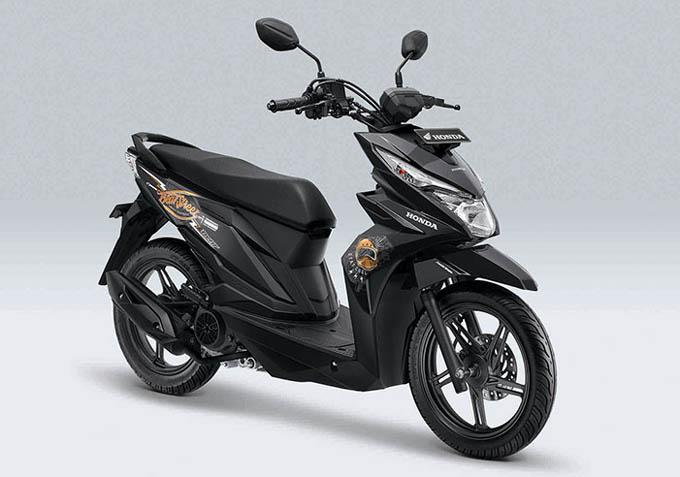 Honda Beat Street Warna Hitam