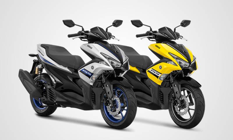 pilihan warna Yamaha Aerox R Version