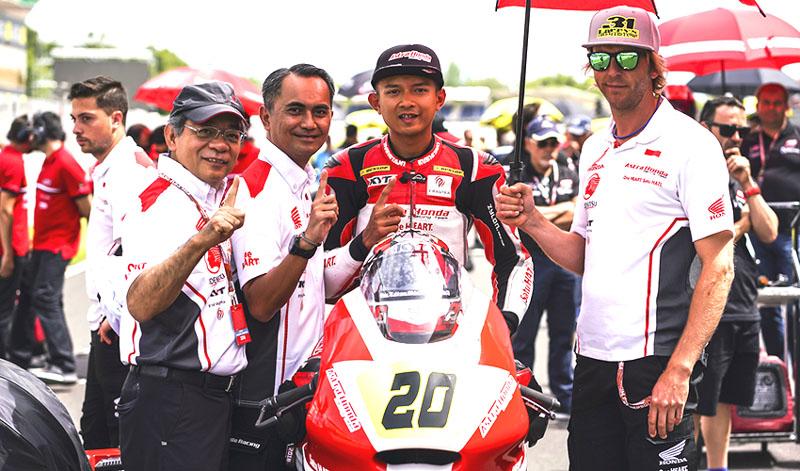 Dimas Ekky Moto2 2019