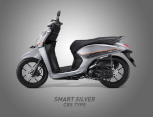 Honda Genio Warna Smart Silver